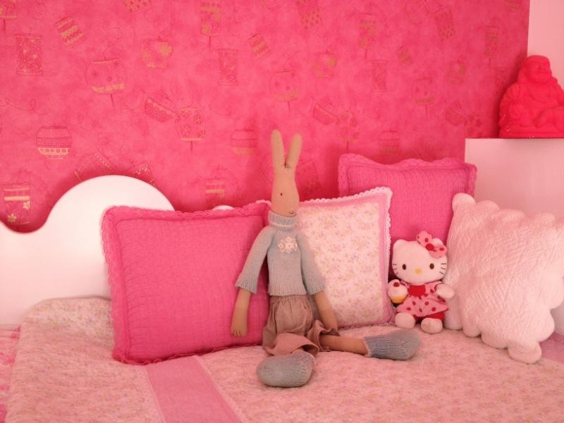 Zoete rolgordijnen voor op een meisjes slaapkamer rolgordijnenexpert online bestellen - Kleur van slaapkamer meisje ...