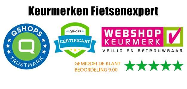 Keurmerken fietsenwinkel fietsenexpert.nl