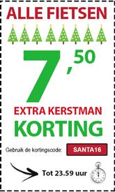 kerst-actie fietsenwinkel 2016