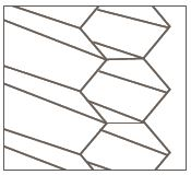 plissegordijnen honinggraat