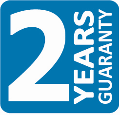 2 jaar garantie