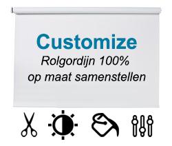rolgordijn op maat customize