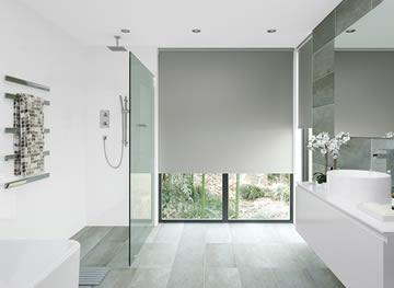 badkamer oplossing rolgordijnen