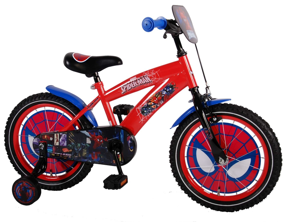 Spider-Man fiets 16 inch model 2