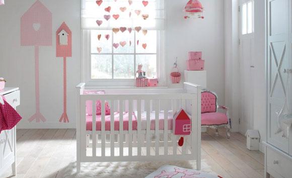 Gordijnen Kinderkamer Roze : Eerst kijken welke kleur het beste in de ...