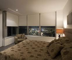 rolgordijn off white slaapkamer