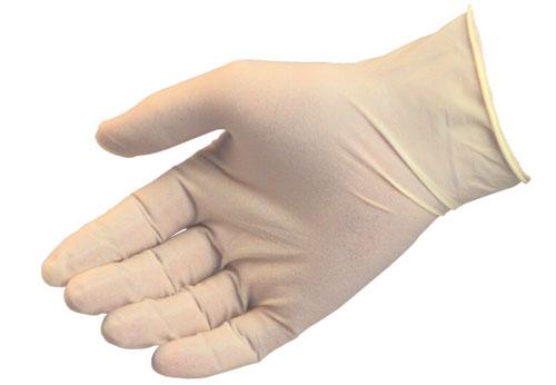 vinyl poedervrij hanschoenen